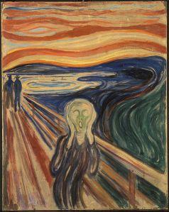 Source: http://en.wikipedia.org/wiki/File:Edvard_Munch_-_The_Scream_-_Google_Art_Project.jpg This is what I feel inside.
