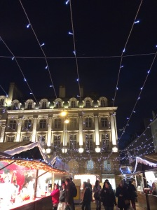 Like getting to see the Rennes Christmas at night with all the beautiful lights. Ugh, what a drag.