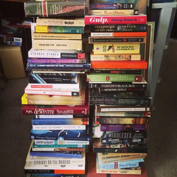 books upon books upon books