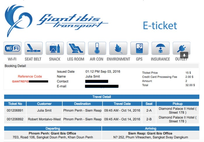 E-tickets are the best tickets.