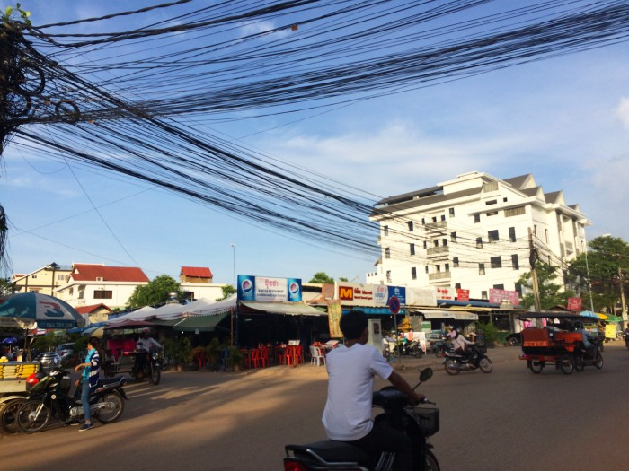 the streets of cambodia where you are paranoid